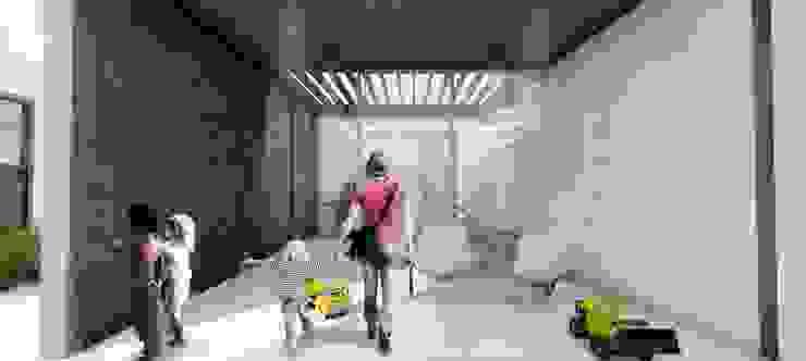 Terraza Pelícanos Balcones y terrazas modernos de Cooperativa Moderno Madera Acabado en madera