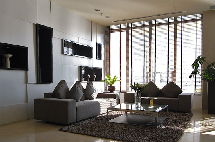 天津 格林園酒店大廳 根據 直譯空間設計有限公司 現代風