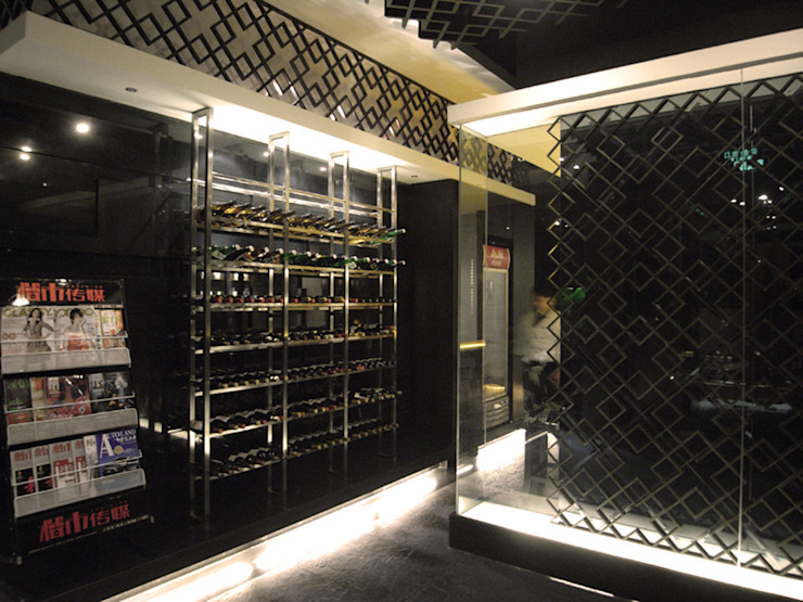天津 WASABE鐵板燒餐廳 根據 直譯空間設計有限公司 古典風