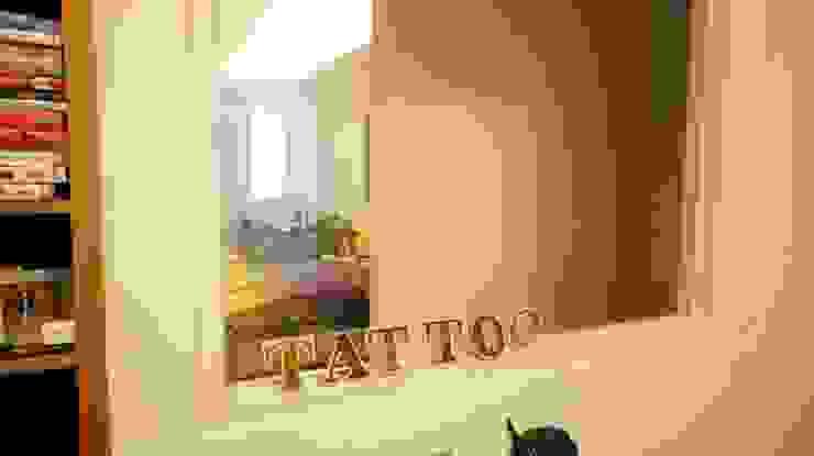 紋身師的家 根據 七輪空間設計 隨意取材風