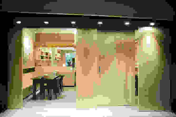 鮮達人日式料理 根據 七輪空間設計 日式風、東方風