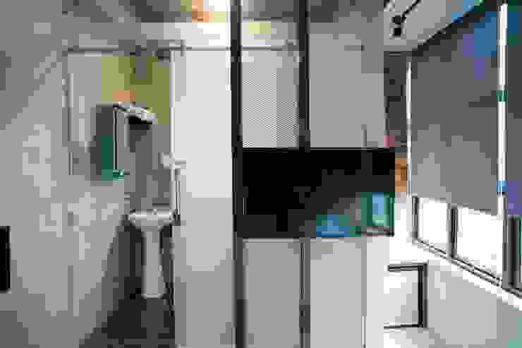 有窩客棧 根據 七輪空間設計 工業風