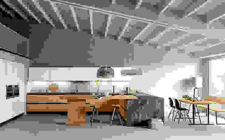 Cocinas de estilo  por Atra Cucine