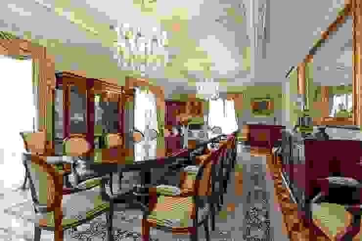 NG PALACE Klasik Yemek Odası Inan AYDOGAN /IA Interior Design Office Klasik Ahşap Ahşap rengi