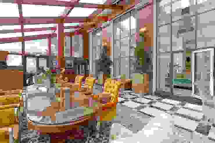 NG PALACE Inan AYDOGAN /IA Interior Design Office Klasik Kış Bahçesi Ahşap Ahşap rengi