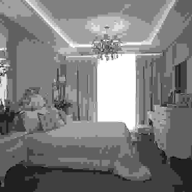 Дизайн бюро Оксаны Моссур Спальня Фіолетовий / фіолетовий