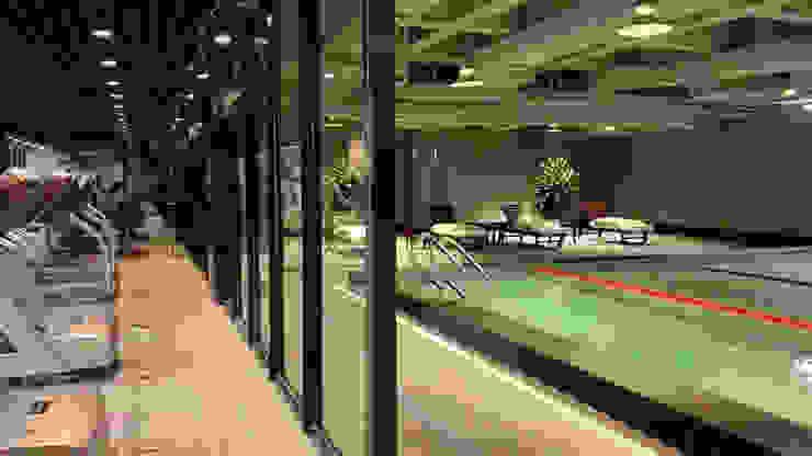 天津 格林會館 健身中心 根據 直譯空間設計有限公司 簡約風
