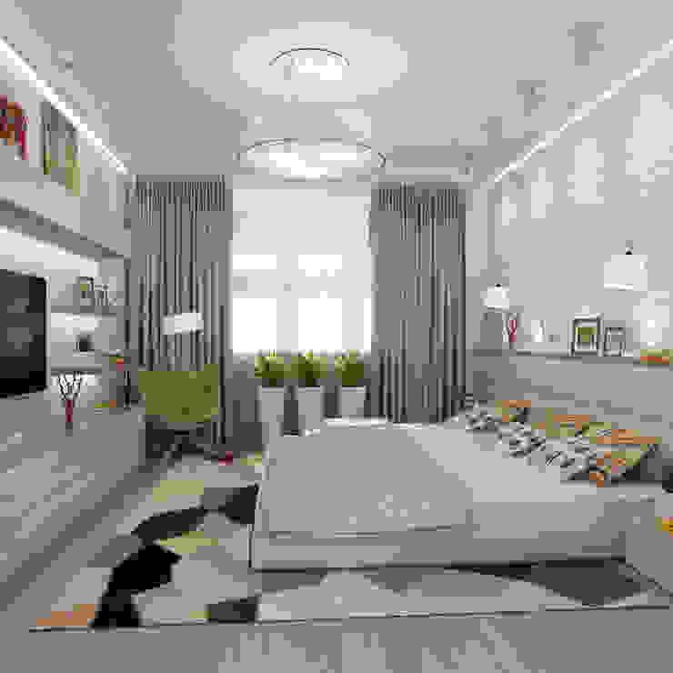 Bedroom by Дизайн бюро Оксаны Моссур, Minimalist