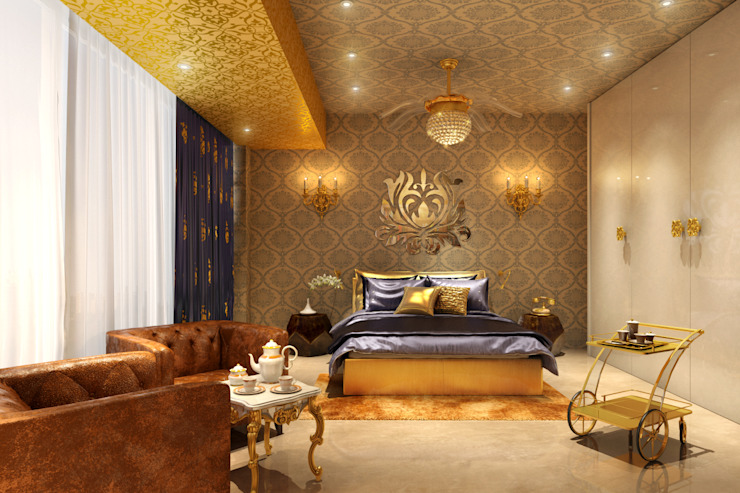 Bedroom by AAMRAPALI BHOGLE
