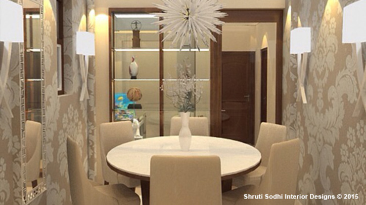 Interior Decoration Modern dining room by Shruti Sodhi Interior Designs Modern