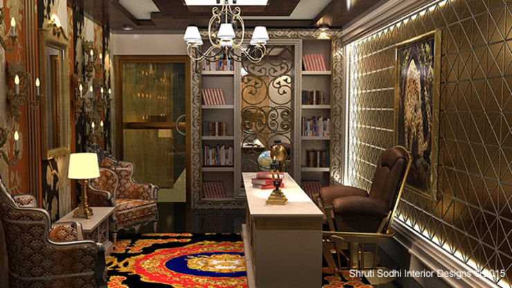 Interior Decoration Modern study/office by Shruti Sodhi Interior Designs Modern