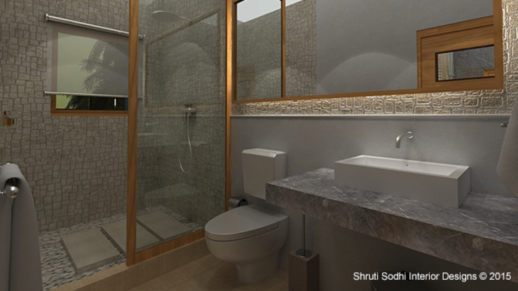 Interior Decoration Modern bathroom by Shruti Sodhi Interior Designs Modern