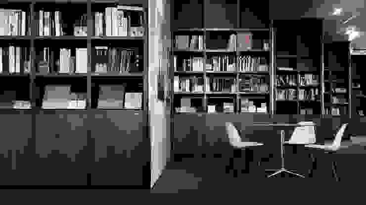 Library: modern  by HB Design Pte Ltd,Modern