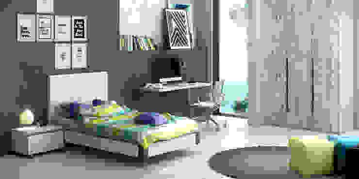 Dormitorio Juvenil de Baixmoduls Moderno