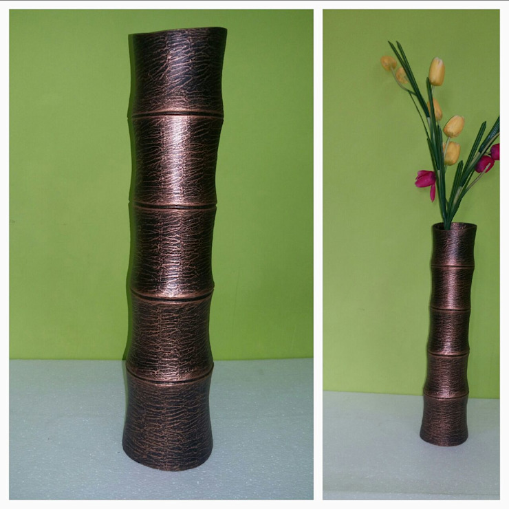 Flower Vases: modern  by Tonishka Decors,Modern Aluminium/Zinc