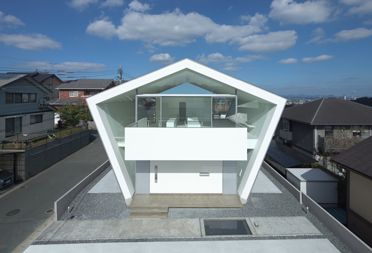 Houses by 森裕建築設計事務所 / Mori Architect Office, Modern