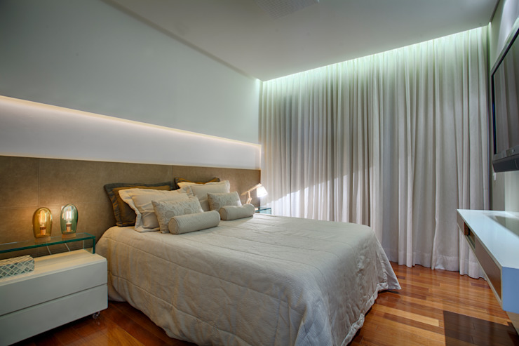 Bedroom by Isabella Magalhães Arquitetura & Interiores, Modern MDF