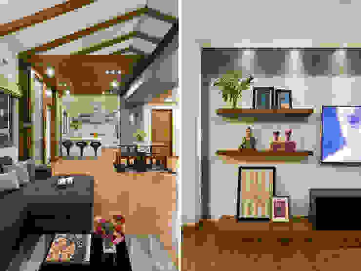 Kalyan Penthouse / Apartment Interiors Modern kitchen by Source Architecture Modern