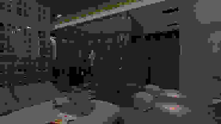 Studio Diego Duracenski Interiores Industrial style bathroom Glass Transparent