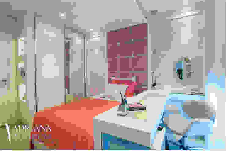 Детская комната в стиле модерн от Adriana Di Garcia Design de Interiores Ltda Модерн
