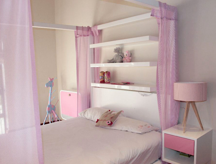 Princess Bed Eclectic style bedroom by Covet Design Eclectic