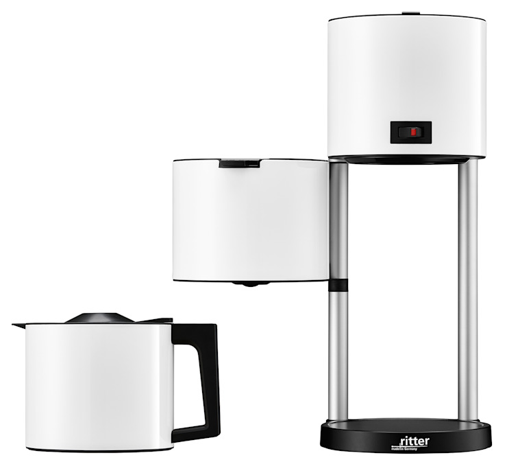 Coffee machine cafena 5 white ritterwerk GmbH CocinaElectrónica