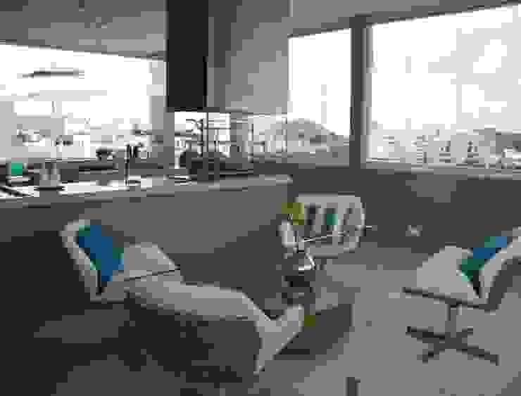 Balcon, Veranda & Terrasse modernes par Juliana Gatto Arquitetura Moderne