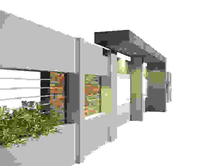 Casas modernas por OFICINA arquitectura&diseño Moderno Betão