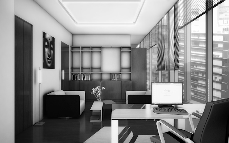 Oficinas en Santa Fe de gOO Arquitectos Minimalista