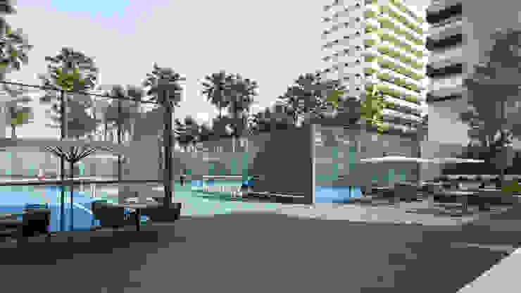 Instalaciones deportivas Casas modernas de TaAG Arquitectura Moderno