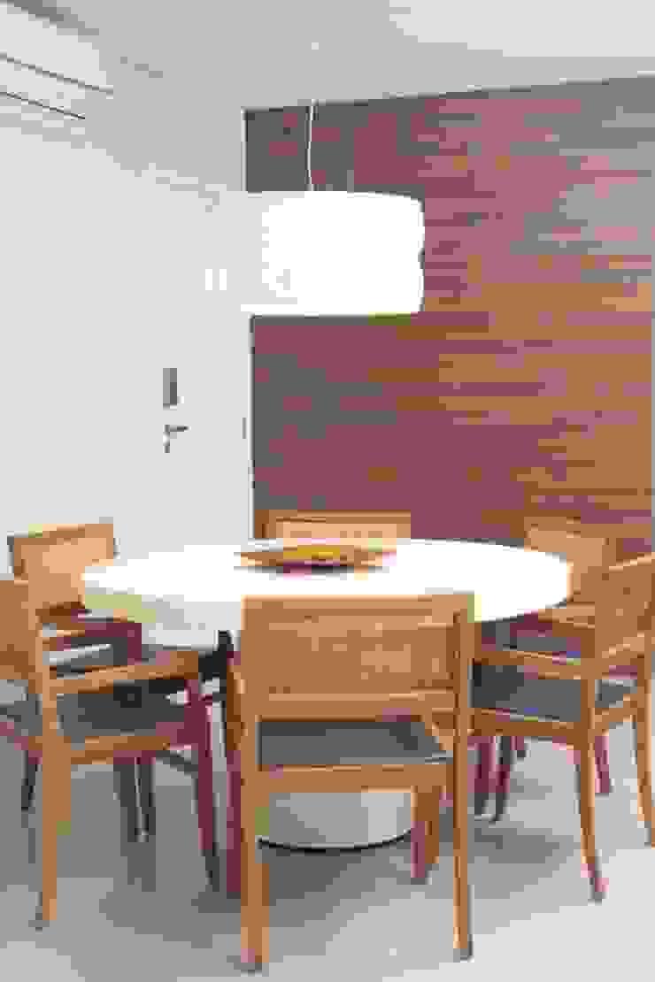 Projeto residencial Salas de jantar modernas por LX Arquitetura Moderno