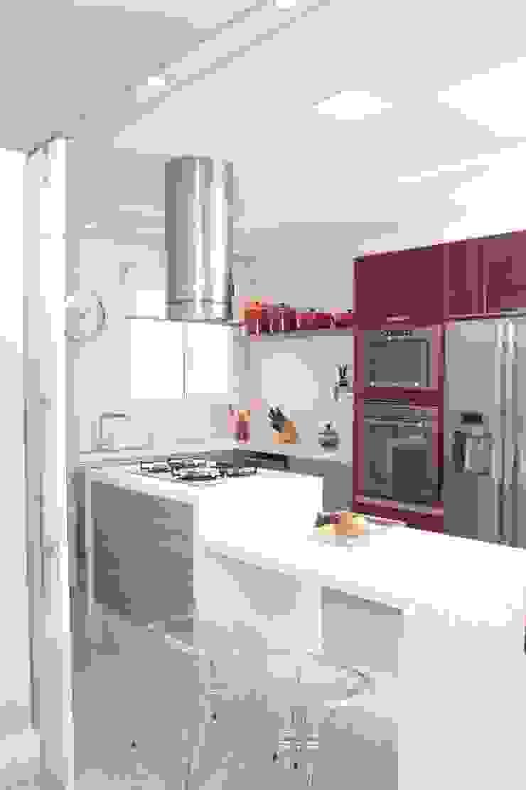 Projeto residencial Cozinhas modernas por LX Arquitetura Moderno