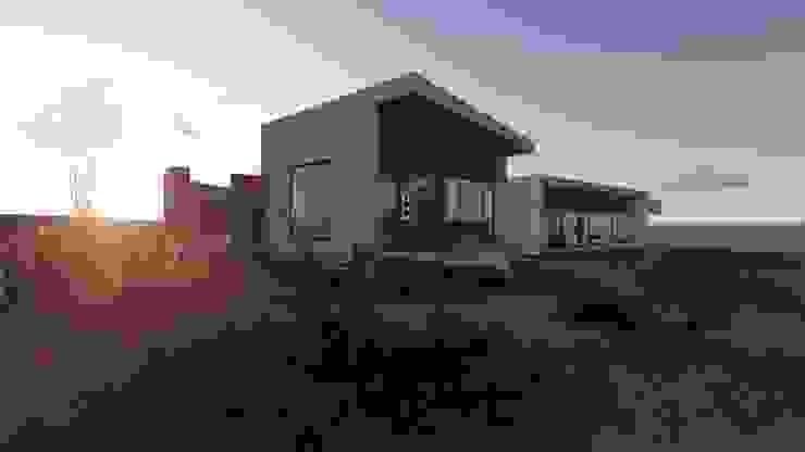 vista 3D hacia bahía:  de estilo  por Vinci studio