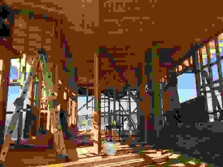proceso constructivo Rodrigo Chávez Arquitecto Casas estilo moderno: ideas, arquitectura e imágenes