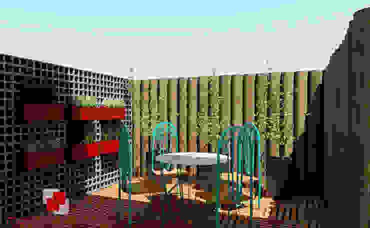 Jardines de estilo rústico de Mais Arquitetura 34 Rústico