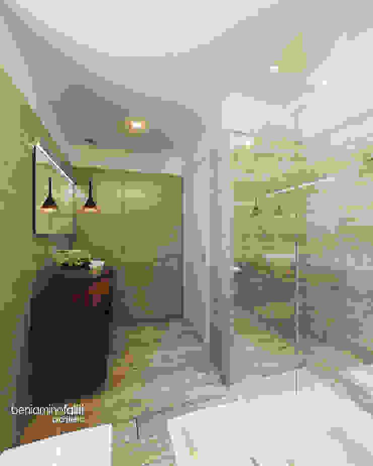 Beniamino Faliti Architetto Modern style bathrooms