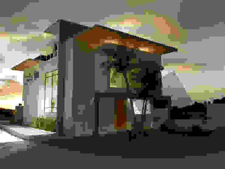 Fachada Principal Casas modernas de KS Architektural Solution Moderno Concreto