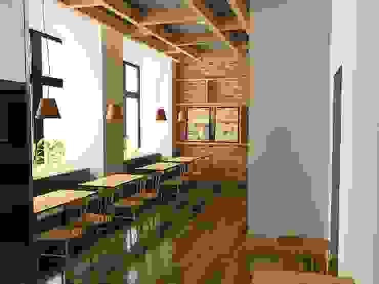 M2O Mimarlık Tasarım Ltd Sti – THE CHICKERS, ALMATI / KAZAKİSTAN: modern tarz , Modern