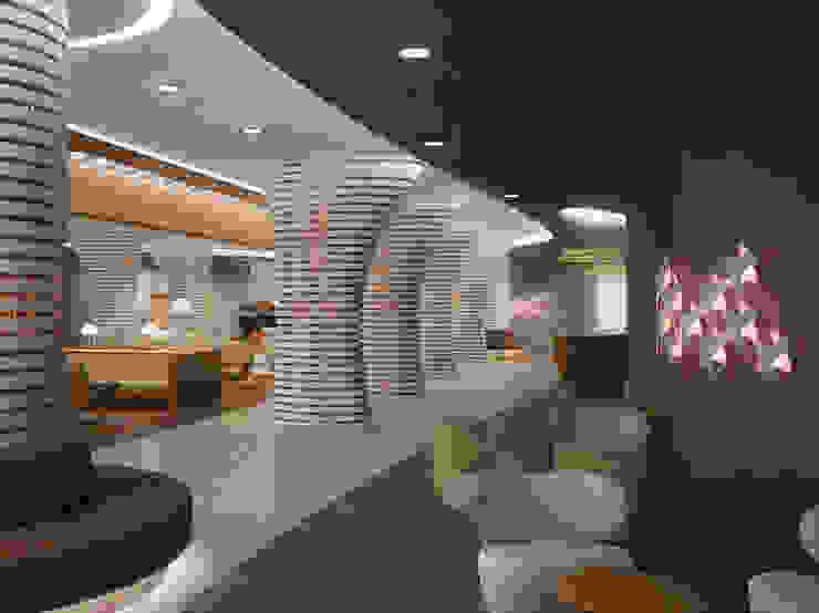 M2O Mimarlık Tasarım Ltd Sti – OLYA HOTEL, RIYAD / SUUDI ARABISTAN: modern tarz , Modern