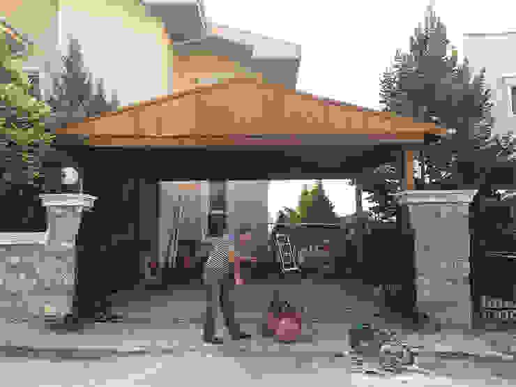 Garajes de estilo  por M2O Mimarlık Tasarım Ltd Sti,