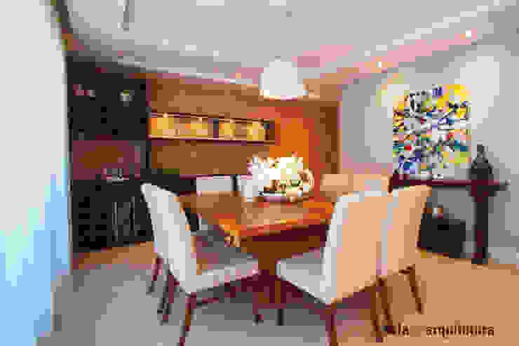 Apartamento J+R Salas de jantar modernas por Saladearquitetura Moderno