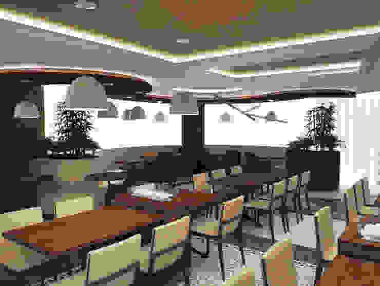 ZÜMRÜDÜANKA RESTAURANT, ALMATI / KAZAKİSTAN M2O Mimarlık Tasarım Ltd Sti