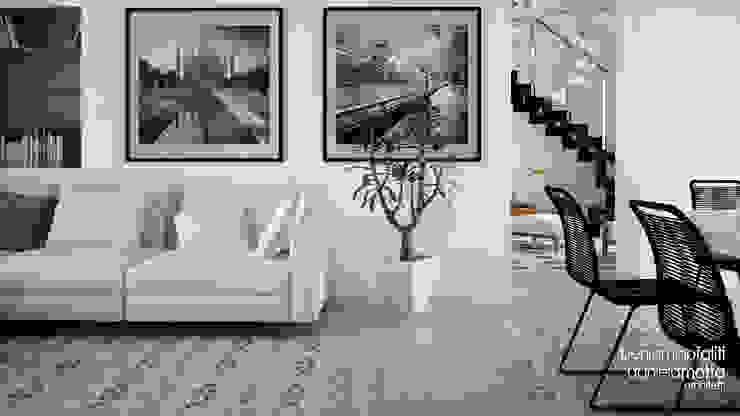 Beniamino Faliti Architetto Livings de estilo moderno