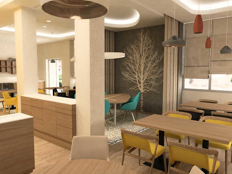 HOLIDAY INN HOTEL, SHYMKENT / KAZAKİSTAN M2O Mimarlık Tasarım Ltd Sti