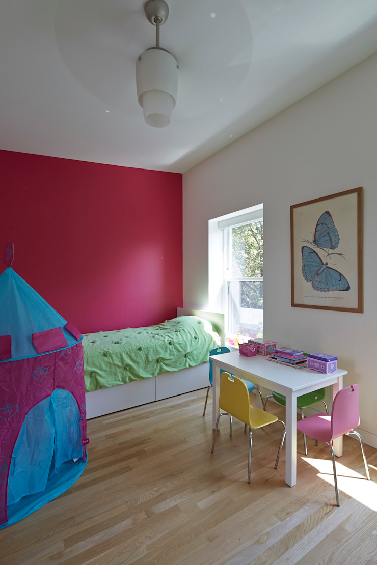Cobble Hill Townhouse Modern Kid's Room by Sarah Jefferys Design Modern