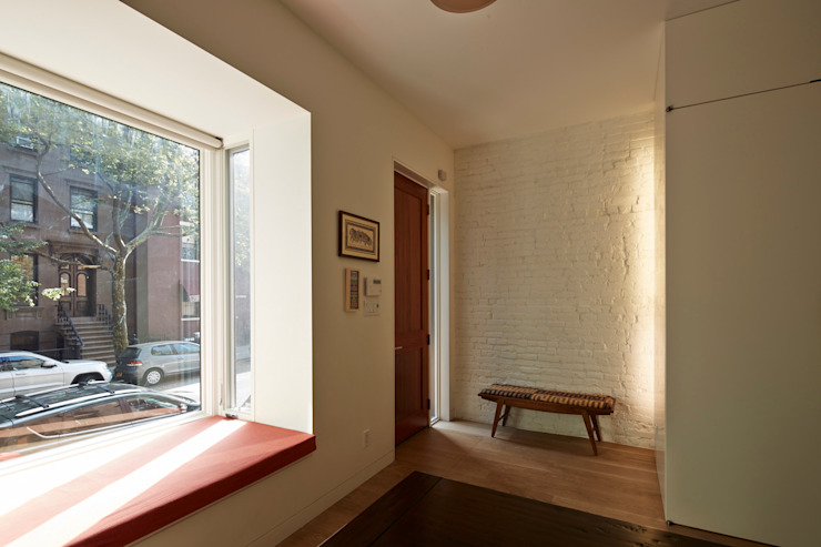 Cobble Hill Townhouse Modern Windows and Doors by Sarah Jefferys Design Modern
