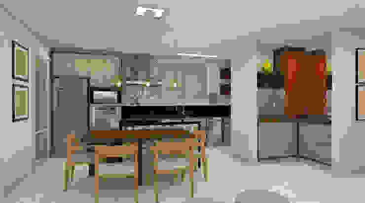 Moderne Küchen von Espaço AU Modern