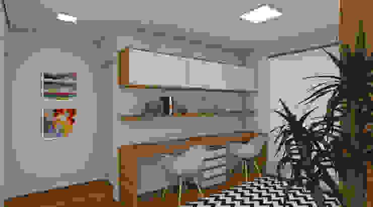Moderne Arbeitszimmer von Espaço AU Modern