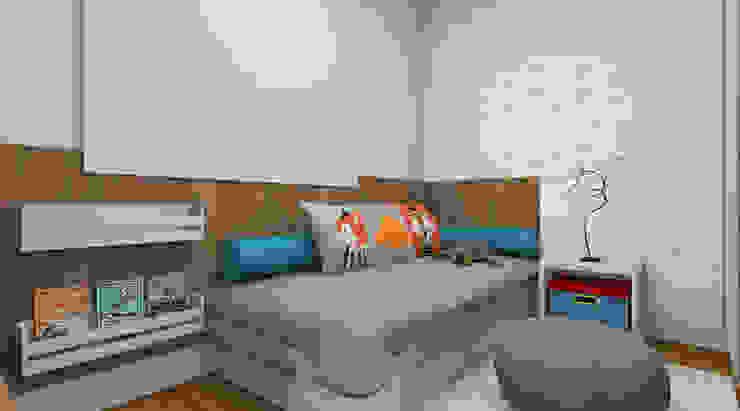 Moderne Kinderzimmer von Espaço AU Modern