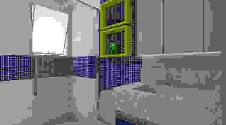 Banheiro Infantil Banheiros modernos por Espaco AU Moderno